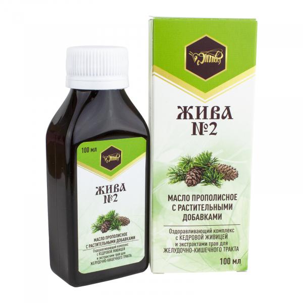 Пищевое масло для желудочно-кишечного тракта «ЖИВА №2»